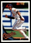 2010 Topps #25  Adam Jones  Front Thumbnail