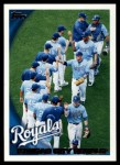 2010 Topps #69   Royals Team Front Thumbnail