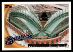 2010 Topps #72   Brewers History Front Thumbnail