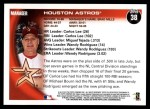 2010 Topps #38   Astros Team Back Thumbnail