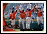 2010 Topps #38   Astros Team Front Thumbnail