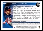 2010 Topps #129  Reid Gorecki  Back Thumbnail
