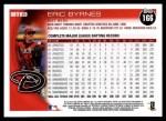 2010 Topps #166  Eric Byrnes  Back Thumbnail