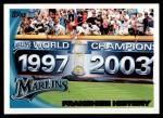 2010 Topps #198   Marlins History Front Thumbnail