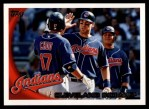 2010 Topps #197   Indians Team Front Thumbnail