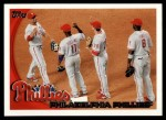 2010 Topps #134   Phillies Team Front Thumbnail
