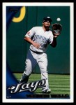 2010 Topps #159  Vernon Wells  Front Thumbnail