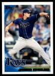 2010 Topps #195  James Shields  Front Thumbnail