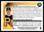 2010 Topps #284  Ross Ohlendorf  Back Thumbnail