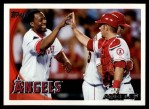 2010 Topps #265   Angels Team Front Thumbnail