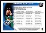 2010 Topps #267   Blue Jays History Back Thumbnail