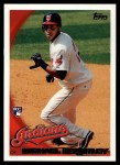 2010 Topps #270  Michael Brantley  Front Thumbnail
