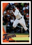 2010 Topps #222  Curtis Granderson  Front Thumbnail