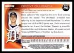 2010 Topps #293  Brent Dlugach  Back Thumbnail