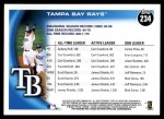 2010 Topps #234   Rays Team Back Thumbnail