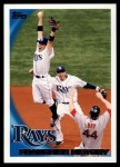 2010 Topps #234   Rays Team Front Thumbnail