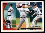 2010 Topps #203   -  Zack Greinke / Felix Hernandez / Roy Halladay AL ERA Leaders Front Thumbnail