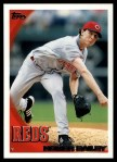 2010 Topps #262  Homer Bailey  Front Thumbnail