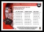 2010 Topps #264   Diamondbacks History Back Thumbnail