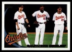 2010 Topps #298   Orioles Team Front Thumbnail