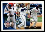 2010 Topps #206   -  Albert Pujols / Prince Fielder / Ryan Howard NL HRs Leaders Front Thumbnail