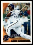 2010 Topps #216  Mike Cameron  Front Thumbnail
