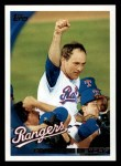 2010 Topps #341   Rangers History Front Thumbnail