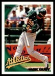 2010 Topps #301  Jack Cust  Front Thumbnail