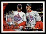 2010 Topps #372   Phillies History Front Thumbnail