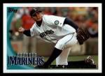 2010 Topps #377  Felix Hernandez  Front Thumbnail