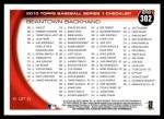 2010 Topps #302   -  Kevin Youkilis / David Ortiz Beantown Backhand Back Thumbnail