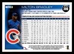 2010 Topps #306  Milton Bradley  Back Thumbnail