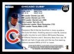 2010 Topps #328   Cubs Team Back Thumbnail