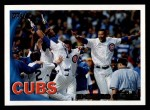 2010 Topps #328   Cubs Team Front Thumbnail