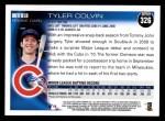 2010 Topps #326  Tyler Colvin  Back Thumbnail