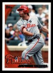 2010 Topps #334  Jayson Werth  Front Thumbnail
