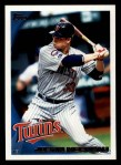 2010 Topps #360  Justin Morneau  Front Thumbnail