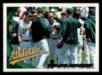 2010 Topps #410   Athletics Team Front Thumbnail