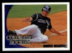 2010 Topps #429  Seth Smith  Front Thumbnail