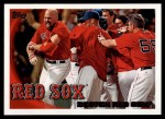 2010 Topps #480   Red Sox Team Front Thumbnail