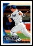 2010 Topps #460  Aaron Cunningham  Front Thumbnail
