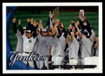 2010 Topps #470   Yankees Team Front Thumbnail