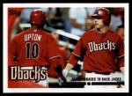 2010 Topps #510   -  Justin Upton / Mark Reynolds Diamondbacks to Back Jacks Front Thumbnail