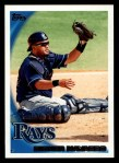 2010 Topps #585  Dioner Navarro  Front Thumbnail