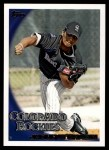 2010 Topps #502  Jhoulys Chacin  Front Thumbnail