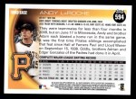 2010 Topps #594  Andy LaRoche  Back Thumbnail