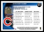 2010 Topps #511   Cubs History Back Thumbnail