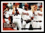 2010 Topps #539   Diamondbacks Team Front Thumbnail