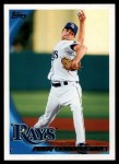 2010 Topps #535  Andy Sonnanstine  Front Thumbnail