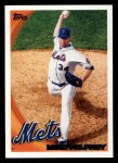 2010 Topps #567  Mike Pelfrey  Front Thumbnail